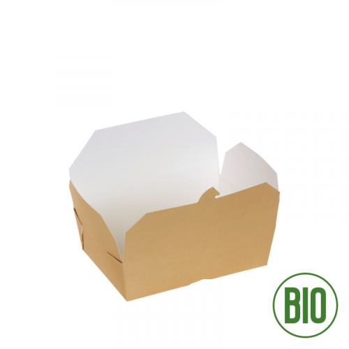 Bio Take-Away-Box XXL 2000ml Kraftpapier SONDERPOSTEN!