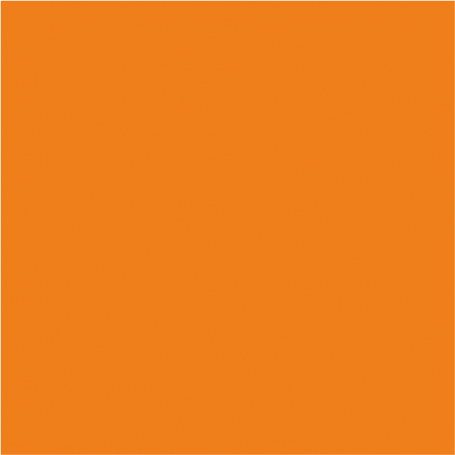 Standard Lackfolie 130cm x 30m 150µm, orange (739)